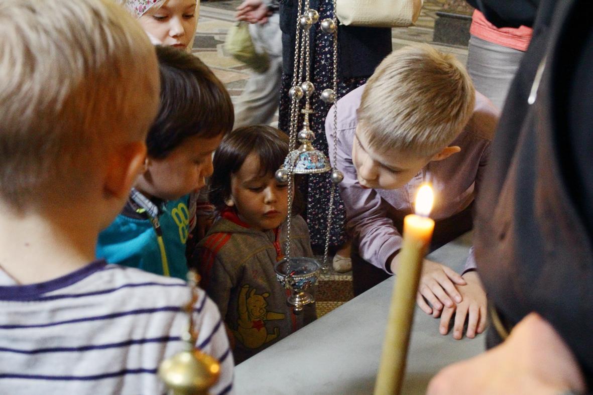 Урок воскресной группы в монастыре