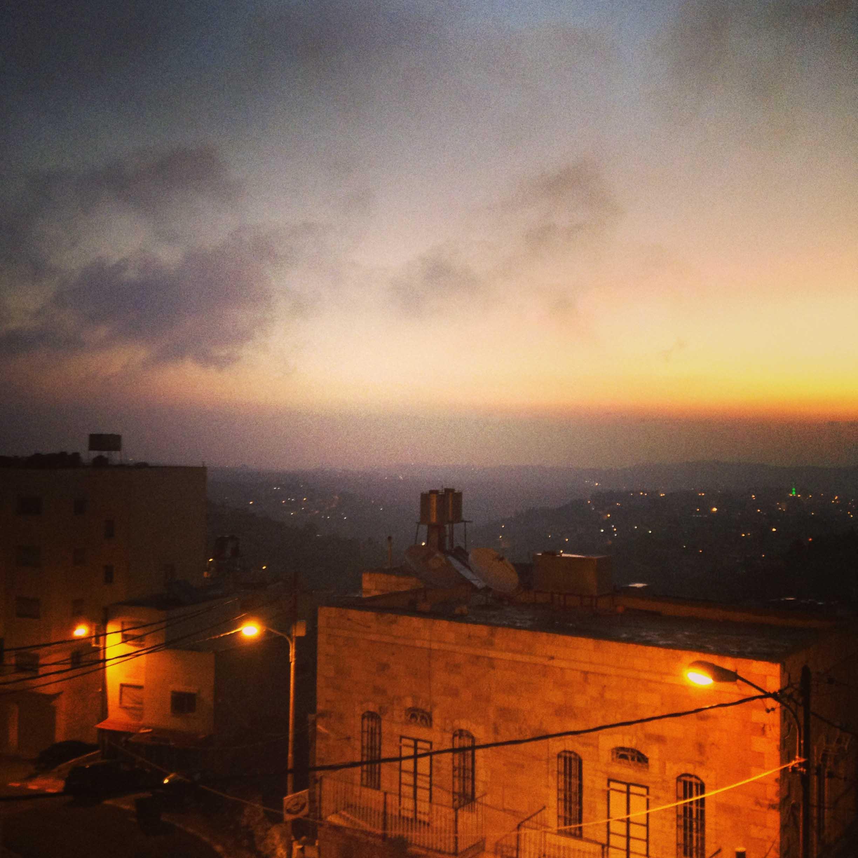 Рассвет в Вифлееме