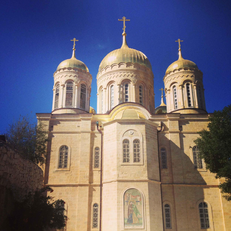 Горненский монастырь. Храм в честь Всех Cвятых в земле Российской просиявших